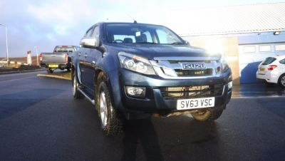 Isuzu D-max 1.8 2.5TD Yukon Double Cab 4x4 Pick Up Diesel Blue at M R Gair Limited Lerwick