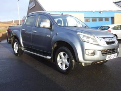Isuzu D-max 1.8 2.5TD Utah Double Cab 4x4 Pick Up Diesel Grey at M R Gair Limited Lerwick