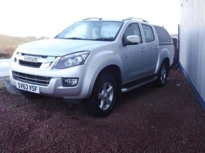 Isuzu D-max 2.0 2.5TD Utah Double Cab 4x4 [Vision Pack] Pick Up Diesel Silver at M R Gair Limited Lerwick